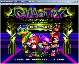 RetroDrive5 for SEGA Genesis(Mega Drive) on Windows