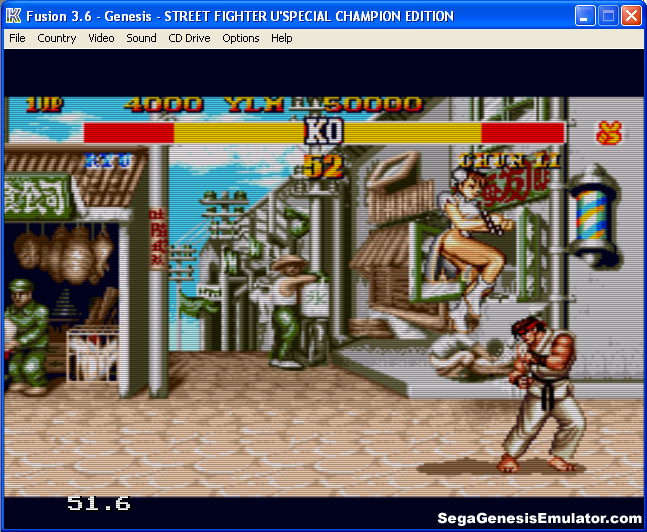 HazeMD for SEGA Genesis(Mega Drive) on Windows