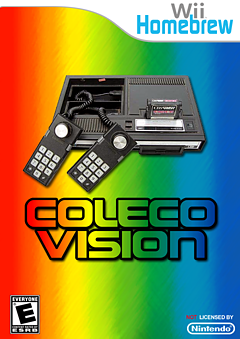 WiiColEm 0.2 for ColecoVision on Wii