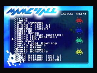 MAME4ALL 4.9r2 on psp