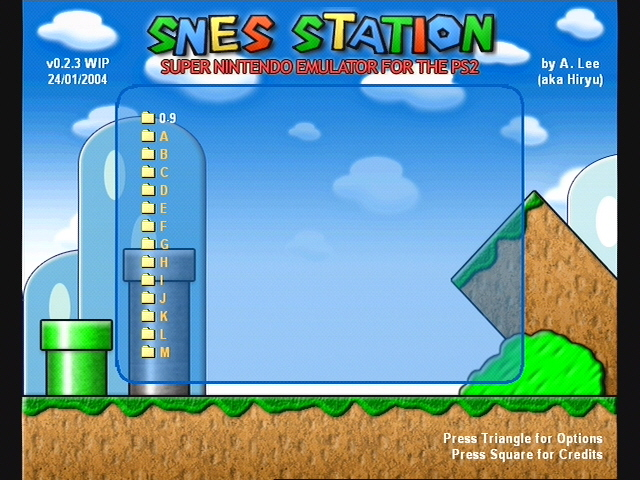 SNES Station for Super Nintendo (SNES) on PS2