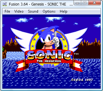 Fusion 3.6.4 for SEGA Genesis(Mega Drive) on Windows