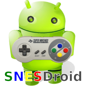 SNESDroid for Super Nintendo (SNES) on Android